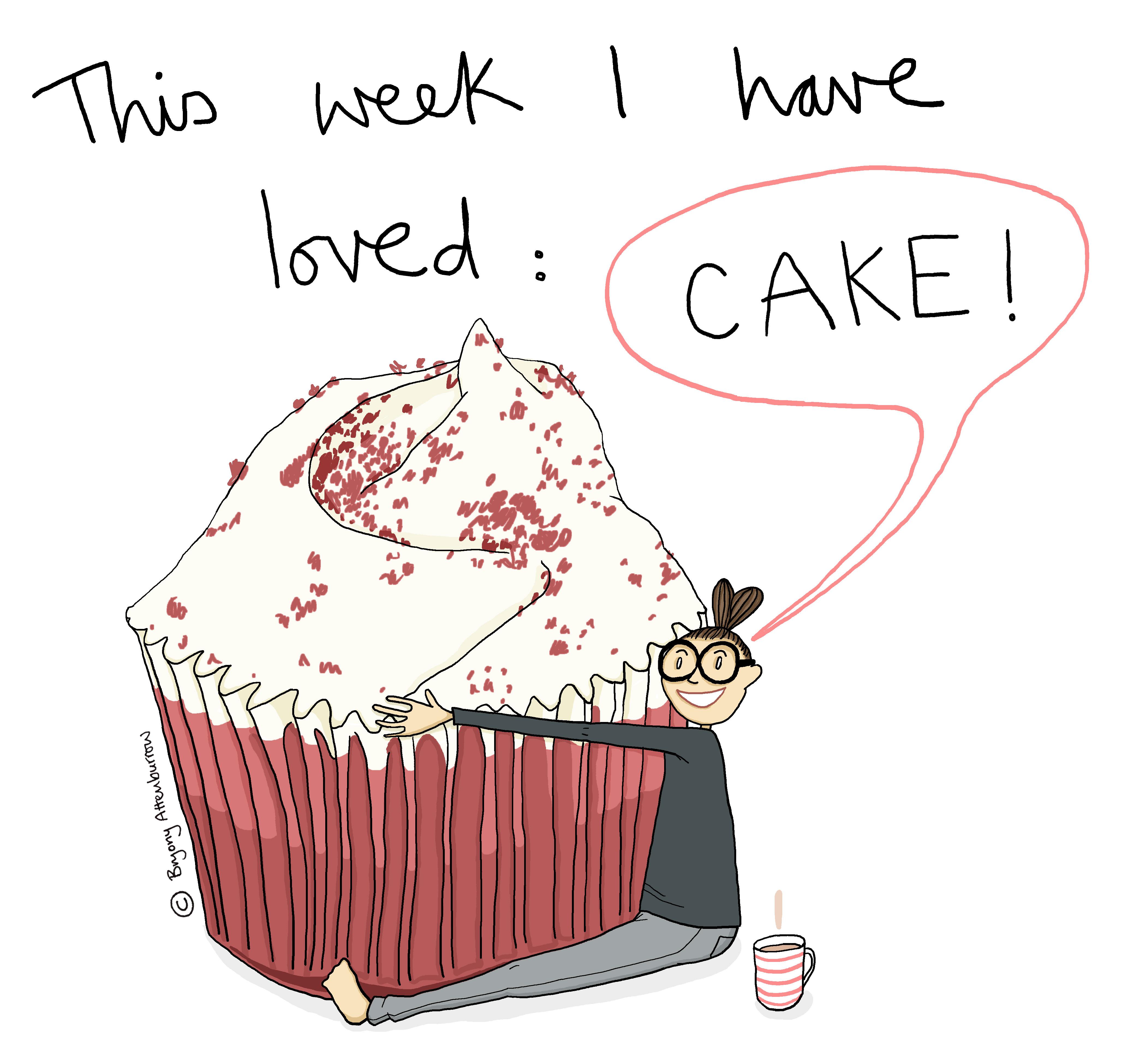 4 this week - cake