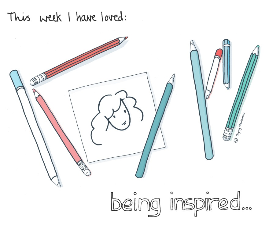 week 11 being inspired - blank