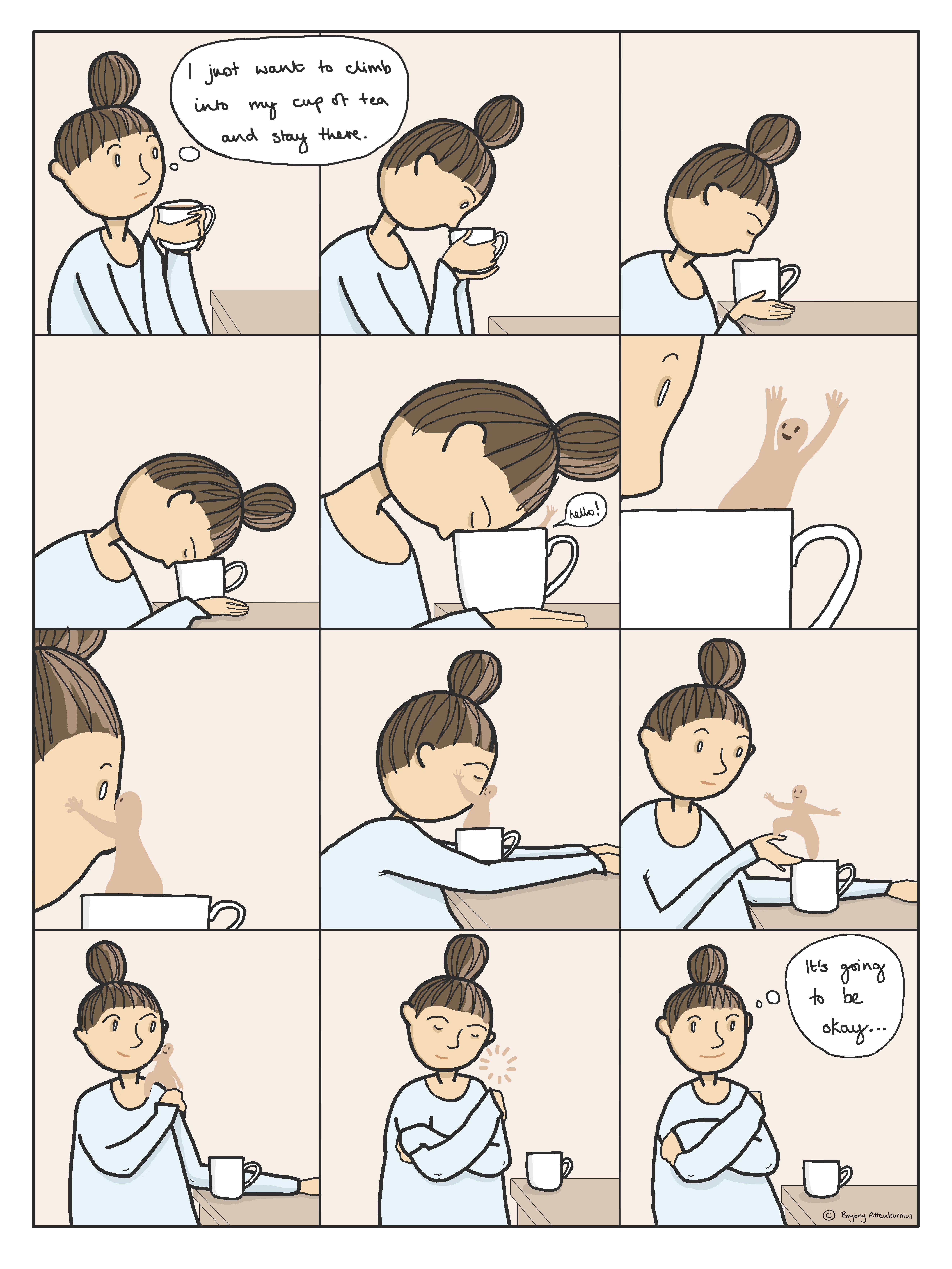comic - the tea friend