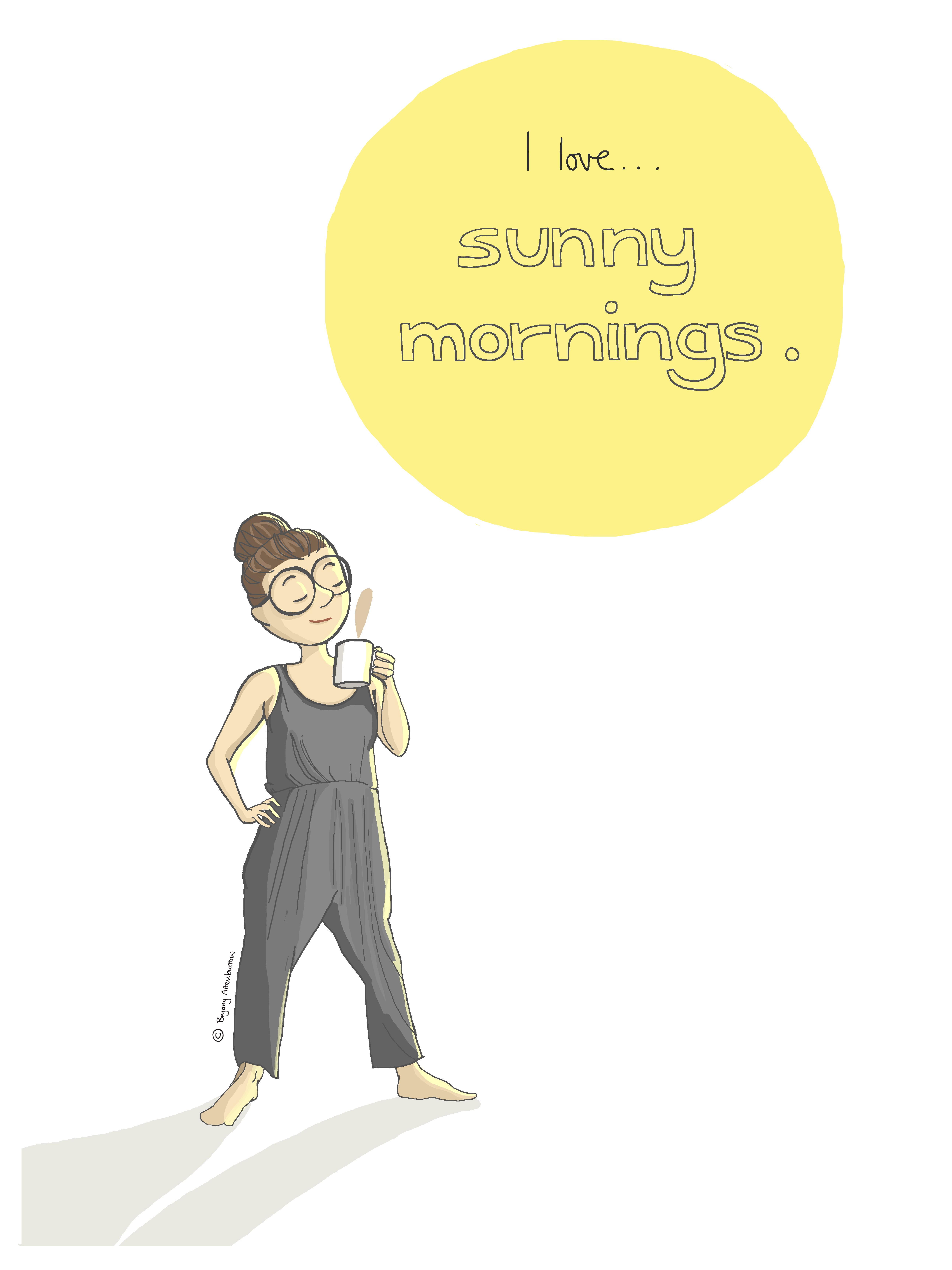 week 54 - sunny mornings