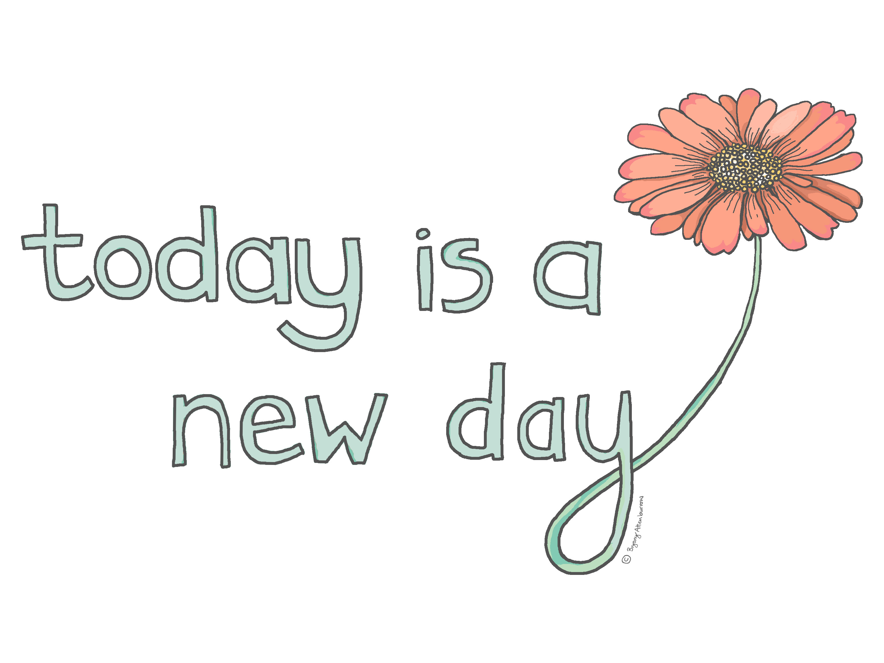today is a new day - blog